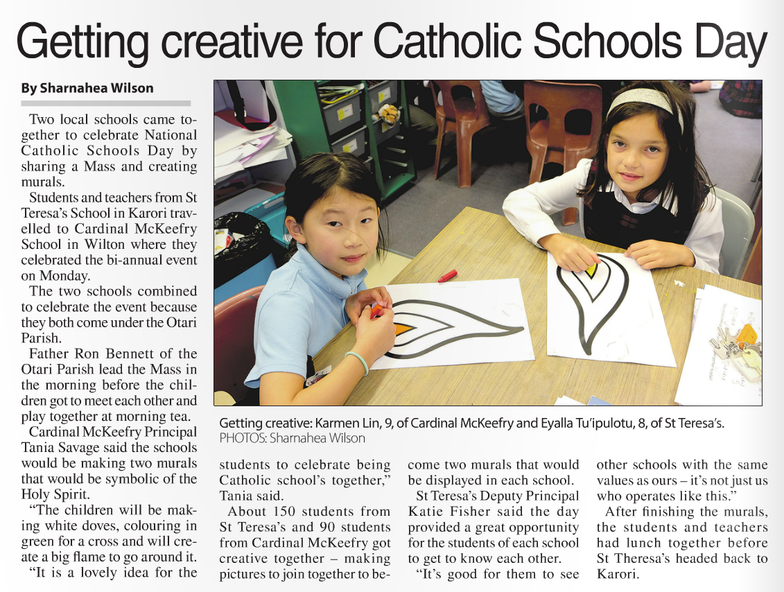 Catholic Schools Day Independent Herald
